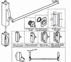 30 Panic Bar Parts Diagram