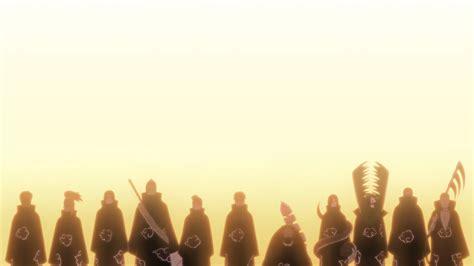 akatsuki silhouette zetsu sunlight deidara sasori