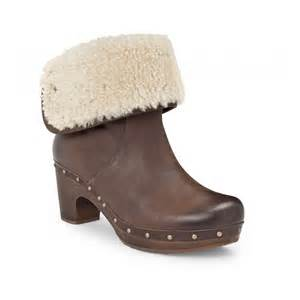 ugg australia clogs sale ugg australia lynnea chocolate clog boots footwear from voila uk