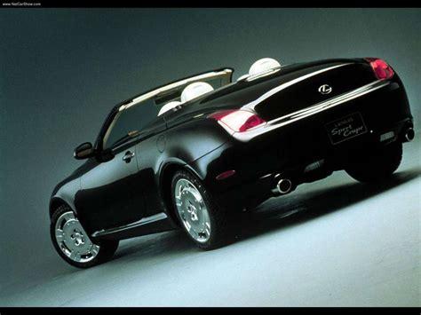 2000 Lexus Sport Coupe Concept