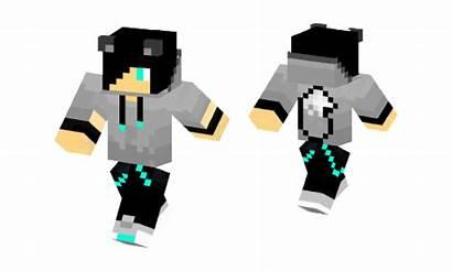 Skin Wolf Boy Minecraft Edited Turquoise Skins