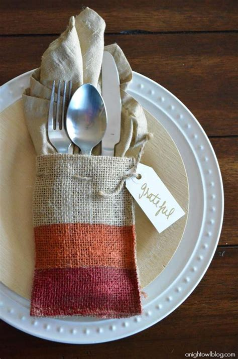 top  lovely diy napkin ring ideas  thanksgiving table