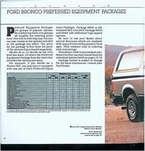 1988 Bronco Dealer Brochure - Local Tavern