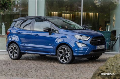 ford ecosport st line 2018 2018 ford ecosport st line road test review