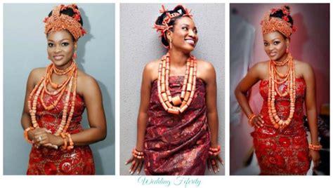 Edo Wedding Attires And Beads