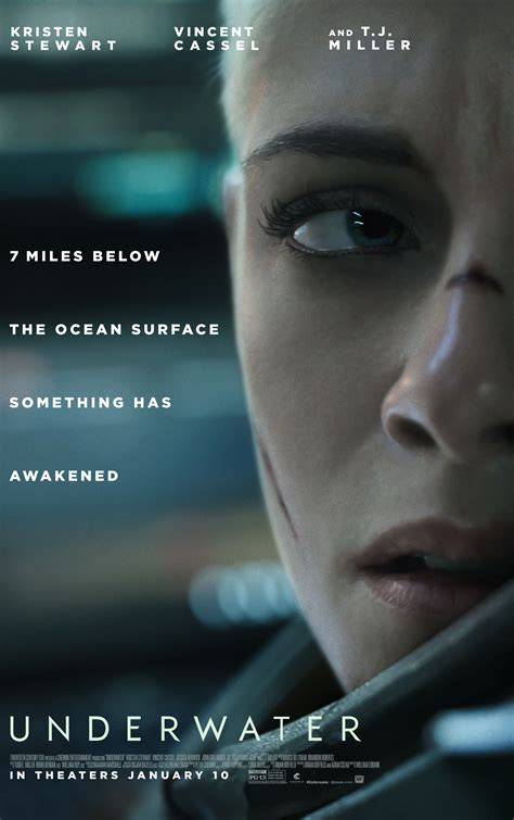 underwater  horror trailer  poster  trapped