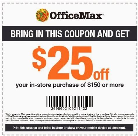 Office Depot Coupons For Ink by Printable Office Depot Coupons 2018 World Of Printables