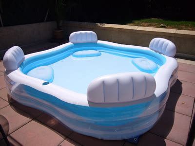 siege gonflable cocoon piscine gonflable familliale intex