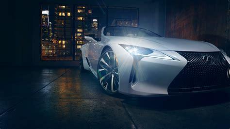 wallpaper lexus lc convertible  detroit auto show
