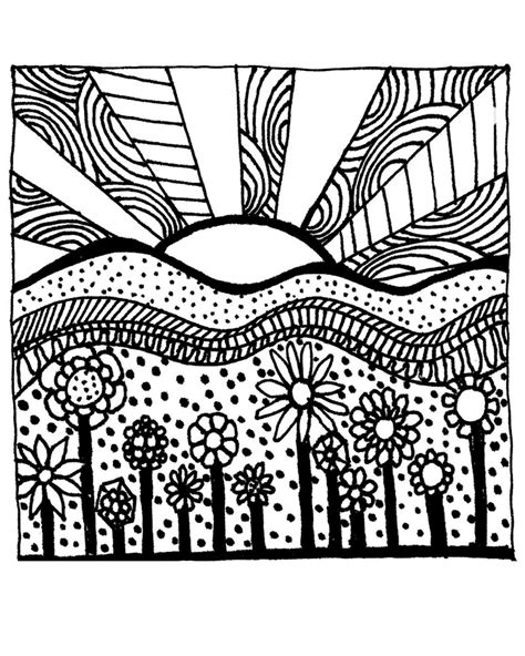 Download Printable Adult Coloring Page digital by