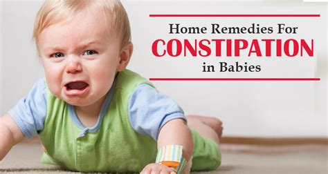 home remedies  constipation  babies