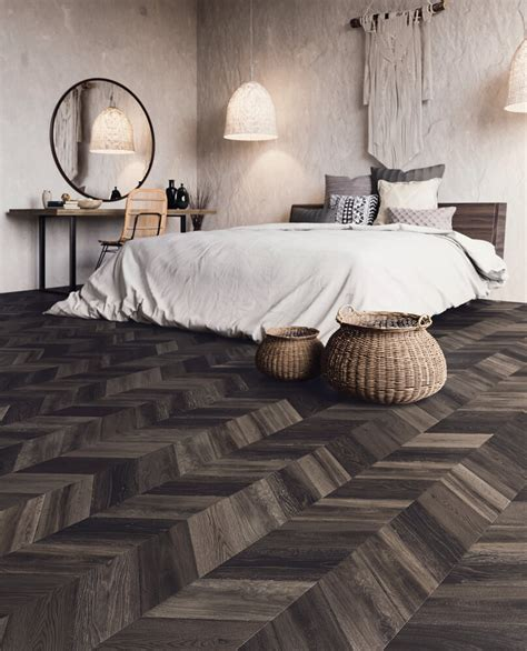 bohemian  abstract effect luxury vinyl flooring