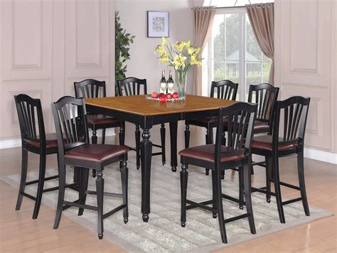 Fancy Black Dining Dining Table And Chair Sets Modern