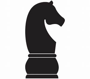 Black Knight Chess Piece Clipart (15+)
