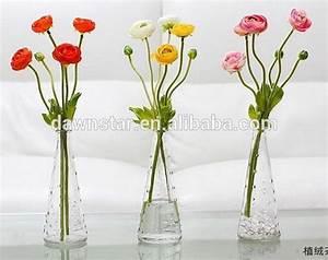 Einzelne Blume Vase : home gardon dekoration glaswaren schuh nagel muster einzelne blume vase gro handel glas und ~ Indierocktalk.com Haus und Dekorationen