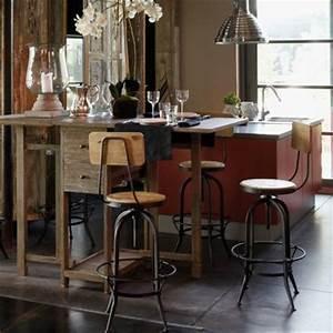 Table De Cuisine Maison Du Monde : table de bar maisons du monde ~ Teatrodelosmanantiales.com Idées de Décoration