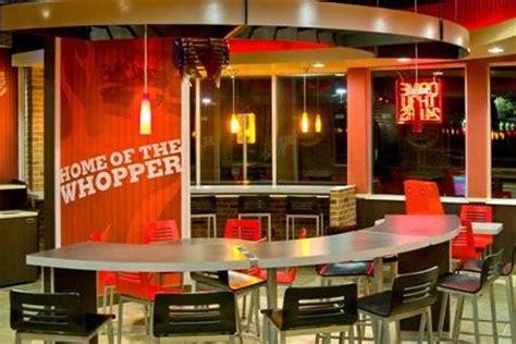 burger king debuts  upscale prototype store qsrweb