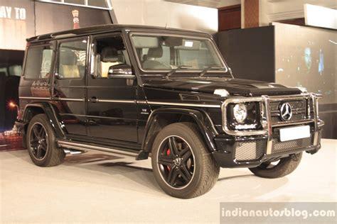 Das in der anzeige abgebildetes fahrzeug dient lediglich als beispiel zur. Mercedes G63 AMG launched in India at Rs. 1.46 Crore