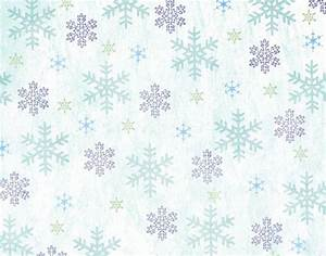 Christmas Snowflakes Powerpoint Templates Blue Christmas Free