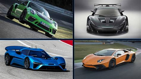 Fastest Production by Discover The 10 Fastest Production Cars At The Nurburgring