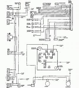 1984 Chevrolet El Camino Wiring Diagram Part 2  61796