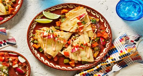 veggie quesadilla recipe hellofresh
