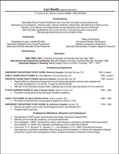 Nursing Resume Objective Ideas by Practitioner Resume Objective Resume Sles