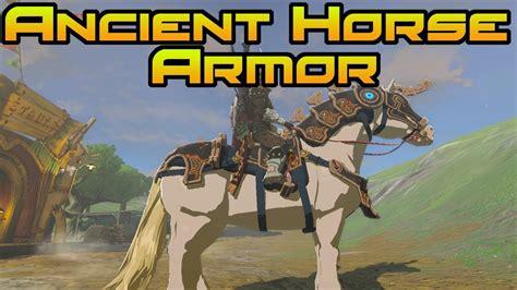 botw armor horse ancient champions zelda ballad