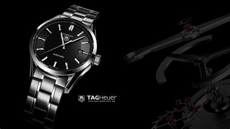 tag heuer advertisement black background carrera watches