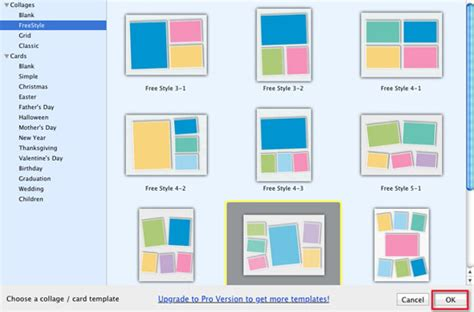 Time Frame Template Mac by Free Collage Maker For Mac Turns Photos Into Collages