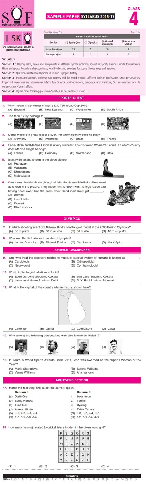 mathematics olympiad questions for class 4 pdf green