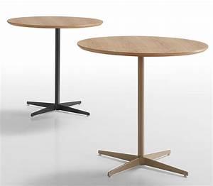Table Haute Design : table haute ronde pour bureau diam tre de 80 cm ~ Teatrodelosmanantiales.com Idées de Décoration