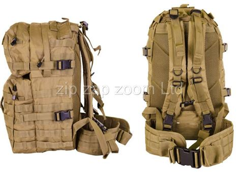 Army Combat Military Rucksack Back Pack Molle 40l 40 Litre