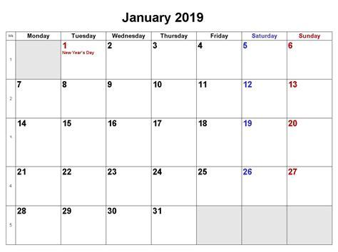 Download Printable Pdf Calendar Templates