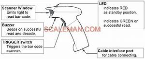 Fc01i Bar Code Scanner For Countin Scales