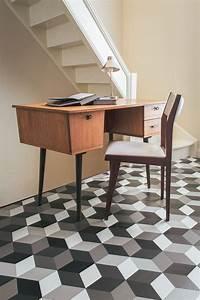 Vinyl Sol Carreaux De Ciment : sol en pvc le confort dans toute la maison marie ~ Premium-room.com Idées de Décoration