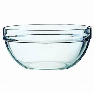 Saladier En Verre : saladier en verre empilable 6cm ~ Teatrodelosmanantiales.com Idées de Décoration