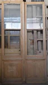 Porte Intérieur Double Vantaux : c2va6 porte d 39 interieur 2 vantaux vitree ~ Melissatoandfro.com Idées de Décoration