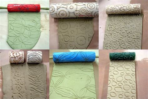 Make A Textured Clay Roller » Dollar Store Crafts