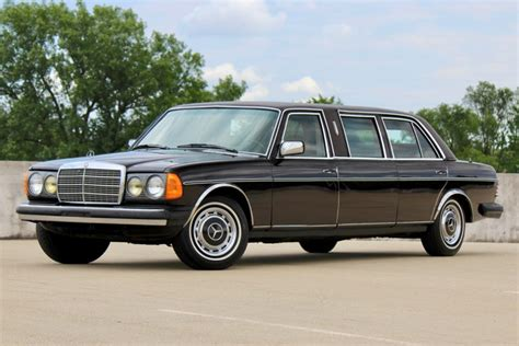 Mercedes Limousine by 1981 Mercedes 300d Limousine For Sale On Bat Auctions