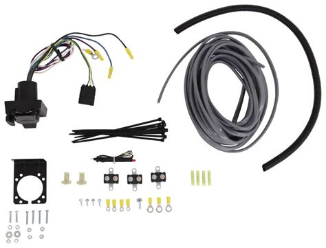 universal installation kit for trailer brake controller 7 way rv and 4 way flat 10