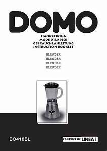 Domo Do 418 Bl Mixer Download Manual For Free Now