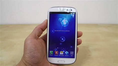 How To Change The Wallpaper On Samsung Galaxy S3 (aka S