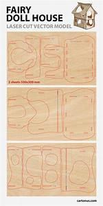 Wood Dollhouse Plans Pattern - Escortsea