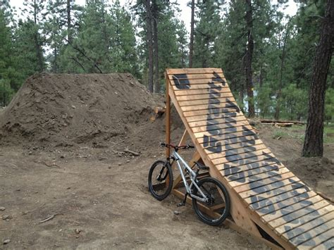 wooden jumps  pics page  pinkbike forum