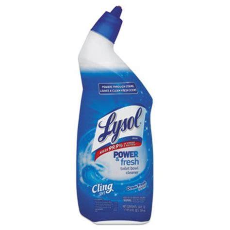 lysol power bathroom cleaner pink bottle lysol brand power fresh toilet bowl cleaner cling gel