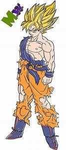 Goku Super Saiyan 4 Coloring Pages I13 By Alking Luffy On