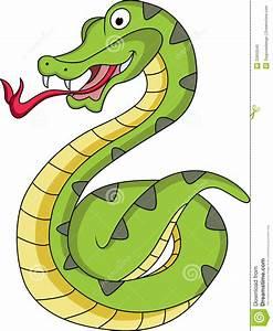 Funny Snake Cartoon Stock Photo - Image: 22650540