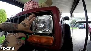 98 Jeep Cherokee Xj Headlight Conversion