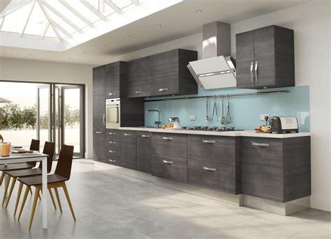 White And Grey Modern Kitchen